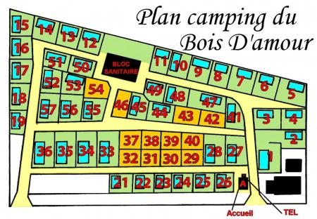 Camping Camping Le Bois d'Amour