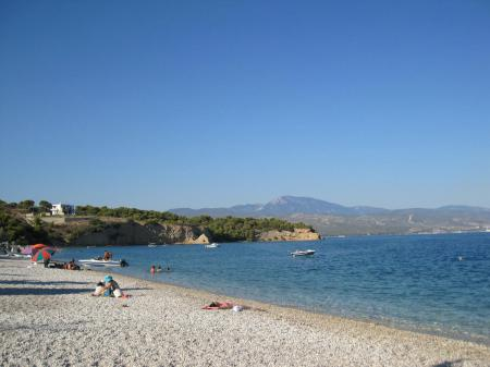 Camping Isthmia Beach Camping