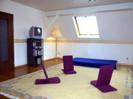 Youth hostel fitness center