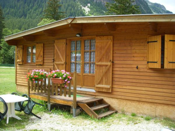 Camping Alpes Lodges Le Parc Isertan whirlpool