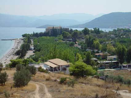 Isthmia Beach Camping Peloponnese