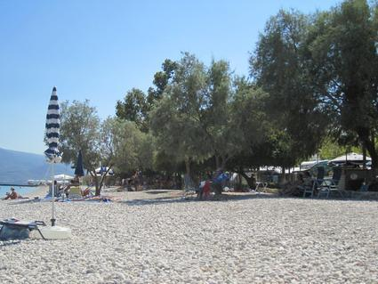 Isthmia Beach Camping Griechenland