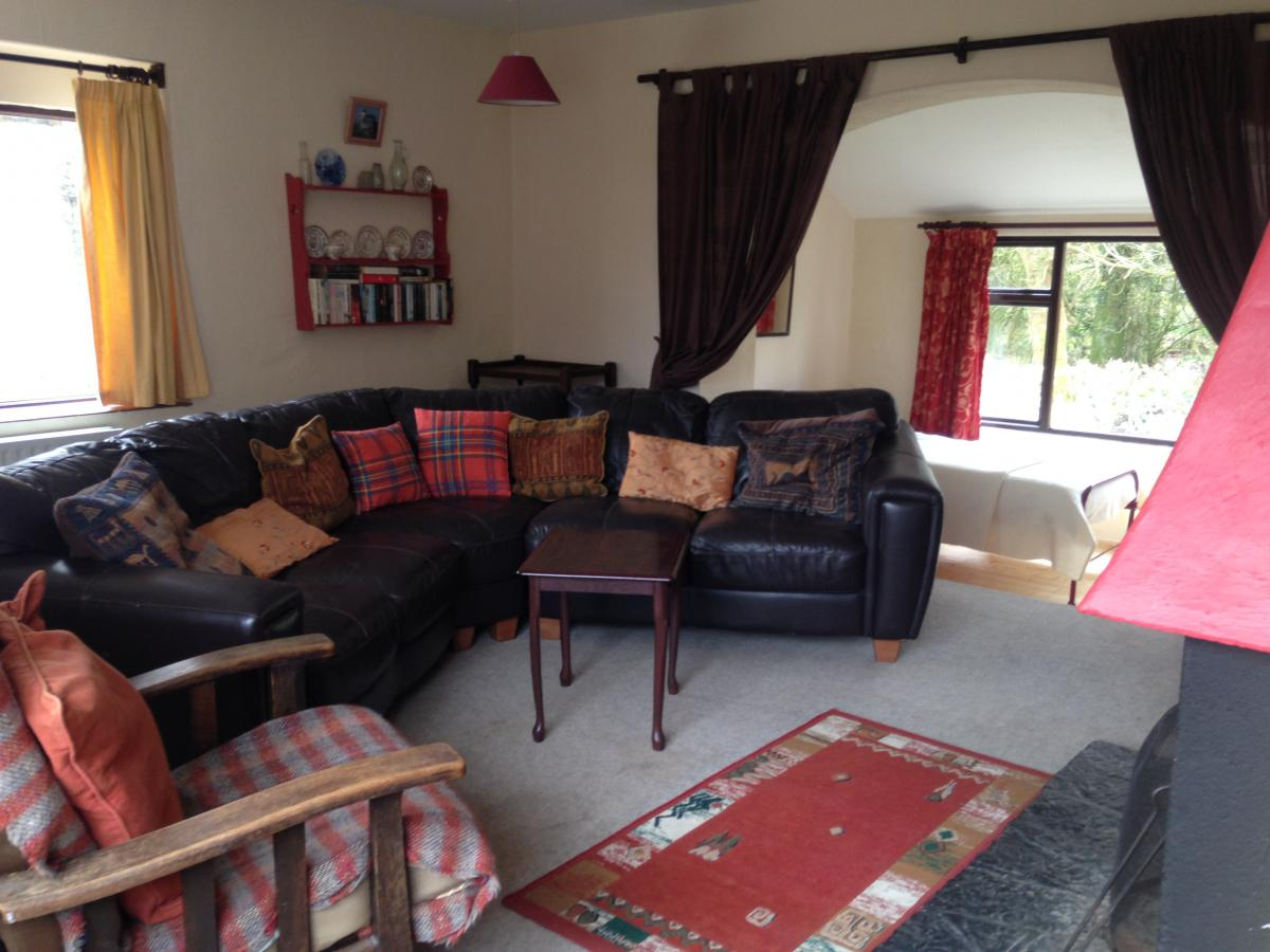 Cleggan Farm Holiday Cottages campo de golf
